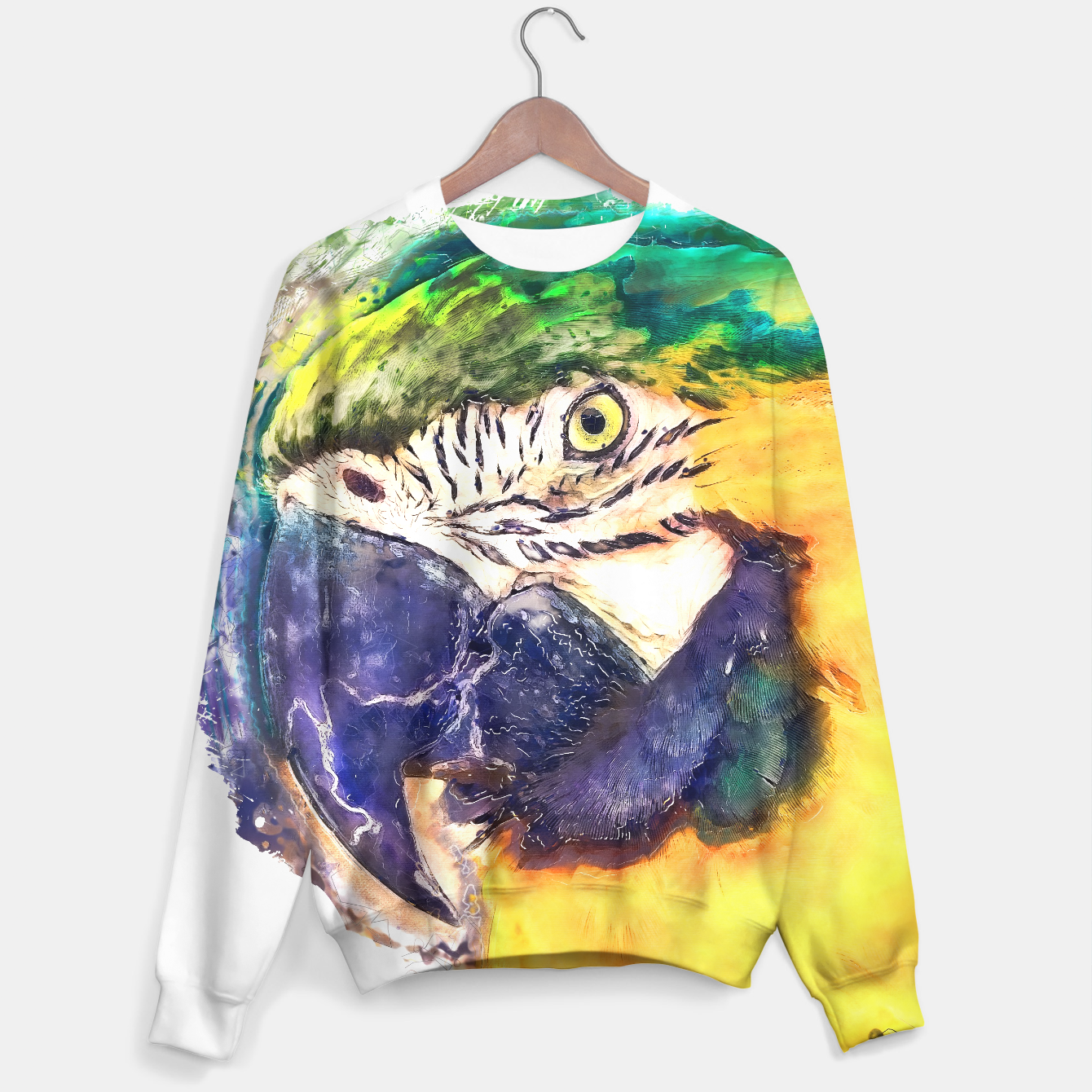Image of Parrot sweater - Live Heroes