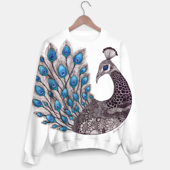 Thumbnail image of 'Majestic Peacock' Sweater, Live Heroes
