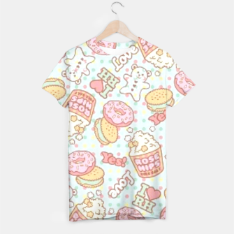 Thumbnail image of Donuts and teddybear T-shirt, Live Heroes