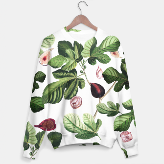 Thumbnail image of Figs Sweater white, Live Heroes