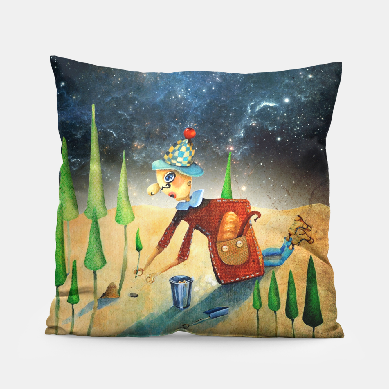 Zdjęcie Environmentalist Pillow - Live Heroes