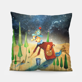 Miniaturka Environmentalist Pillow, Live Heroes