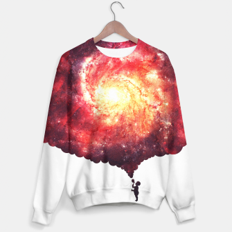 The Universe in a Soap Bubble (Spiritual Space Artwork) Sweater thumbnail image