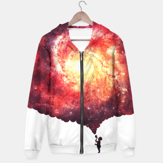 The Universe in a Soap Bubble (Spiritual Space Artwork) Hoodie thumbnail image