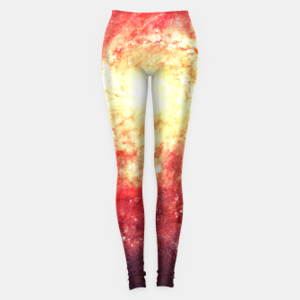 The Universe in a Soap Bubble (Spiritual Space Artwork) Leggings thumbnail image