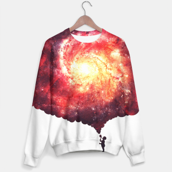 Thumbnail image of The Universe in a Soap Bubble (Spiritual Space Artwork) Sweater, Live Heroes