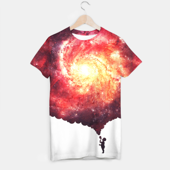 The Universe in a Soap Bubble (Spiritual Space Artwork) T-shirt thumbnail image