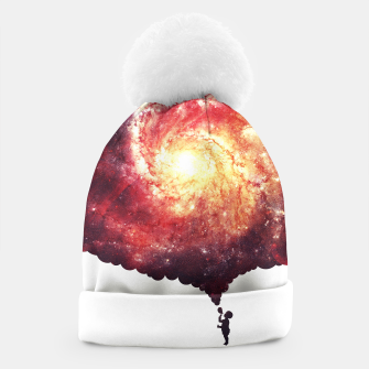 The Universe in a Soap Bubble (Spiritual Space Artwork) Beanie thumbnail image