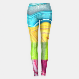 Thumbnail image of Psychedelic Agate Leggings, Live Heroes