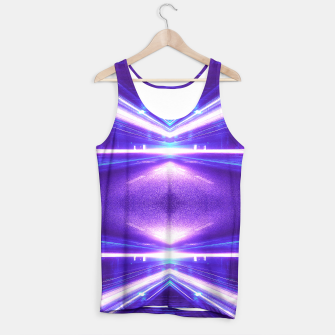 Thumbnail image of Geometric Street Night Light (HDR Photo Art) Purple Tank Top, Live Heroes