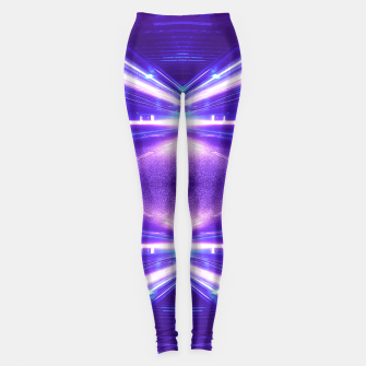 Thumbnail image of Geometric Street Night Light (HDR Photo Art) Purple Leggings, Live Heroes