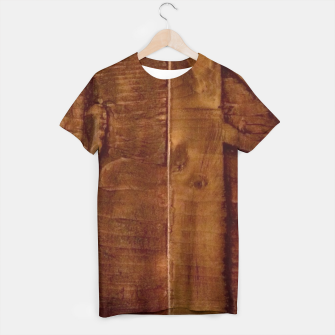 Thumbnail image of Wooden Panel T Shirt, Live Heroes