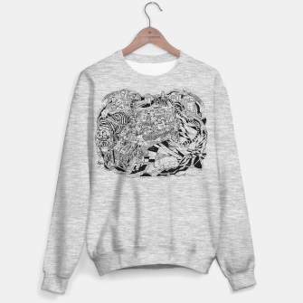 Thumbnail image of tiger city sweater /  mel gray, Live Heroes