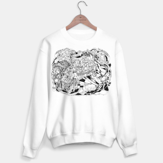 Thumbnail image of tiger city sweater / white, Live Heroes