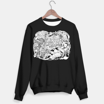 Thumbnail image of tiger city sweater / black, Live Heroes