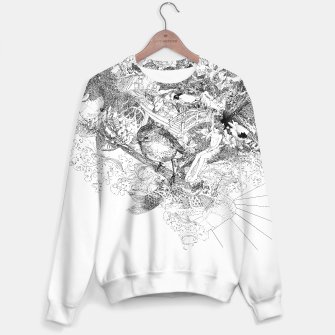Thumbnail image of bird sweater / white, Live Heroes