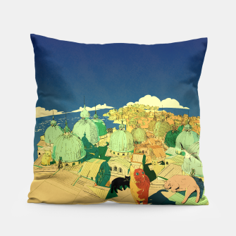 Thumbnail image of cat cushion, Live Heroes