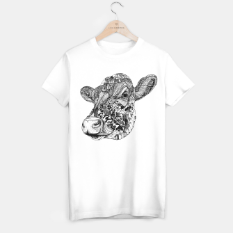 Thumbnail image of Cow Motif tee /white, Live Heroes