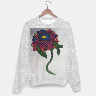 Thumbnail image of psychedelic flower sweater, Live Heroes