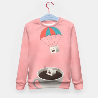 Thumbnail image of Sugar Cubes Kid's Sweater, Live Heroes