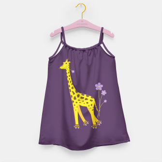Thumbnail image of Cute Skating Giraffe Dress, Live Heroes