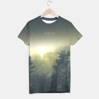 Thumbnail image of Forests never sleep T-shirt, Live Heroes