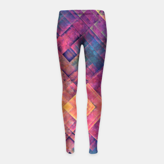 Imagen en miniatura de King purple girls leggings, Live Heroes