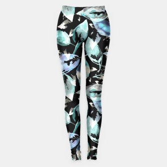 Imagen en miniatura de Blue autumn leaves leggings , Live Heroes