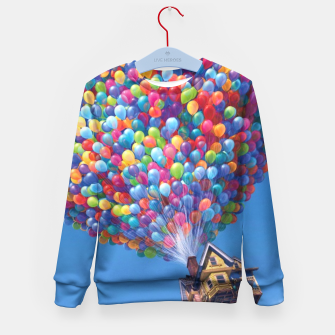 Thumbnail image of Up! In The Air (Kid's Sweater), Live Heroes