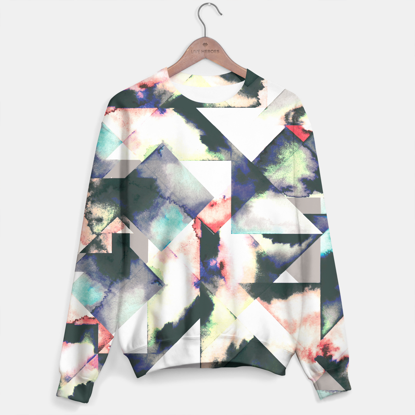 Imagen de Colored tiles sweater  - Live Heroes