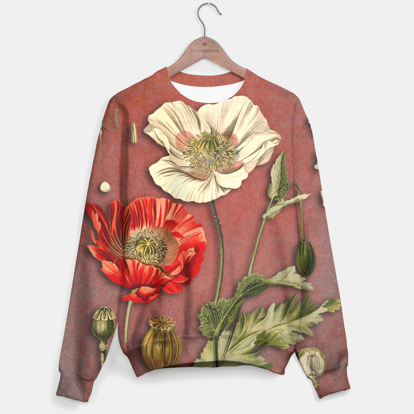 Image of Poppy sweater - Live Heroes