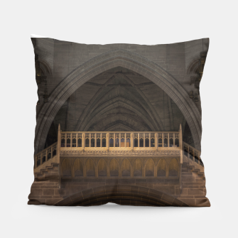 Thumbnail image of Liverpool cathedral pillow, Live Heroes