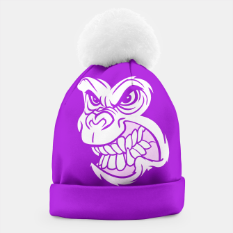 Thumbnail image of Purple Gorilla  Beanie, Live Heroes