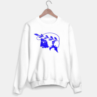 Thumbnail image of Think Sweater white, Live Heroes