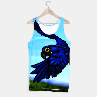 Thumbnail image of Hyacinth Macaw Tank Top , Live Heroes