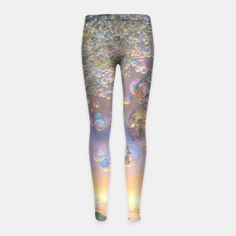 Thumbnail image of Kids' Bubble Tree Leggings, Live Heroes