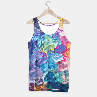 Thumbnail image of Rainbow Abstract Flow Tank Top, Live Heroes