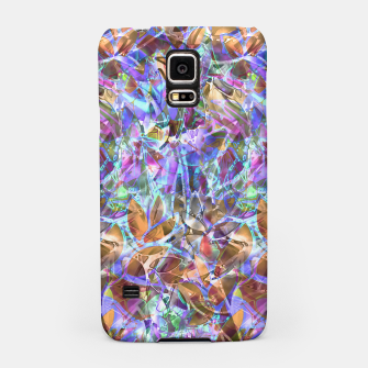 Miniaturka Floral Abstract Stained Glass G268 Samsung Case, Live Heroes
