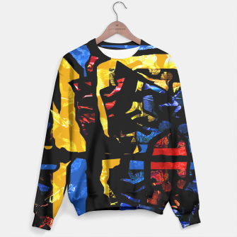 Thumbnail image of Collage Sweater black, Live Heroes