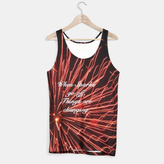 Thumbnail image of Sparks Tank Top, Live Heroes