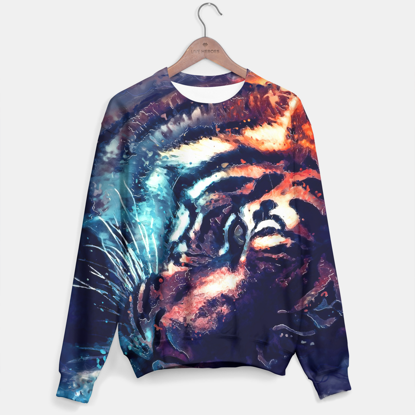 Image of Tiger sweater - Live Heroes