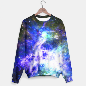 Blue space Sweater miniature