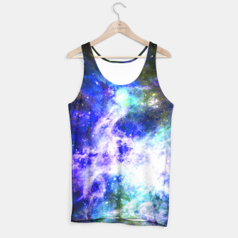 Blue space Tank Top miniature