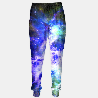 Blue space Sweatpants miniature