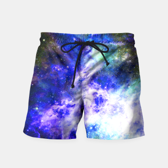 Blue space Swim Shorts miniature