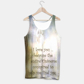 Thumbnail image of UNIVERSAL LOVE TANK TOP, Live Heroes