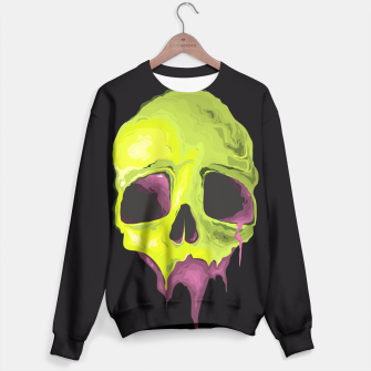 Thumbnail image of Green Skull Sweater, Live Heroes