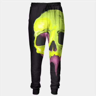 Thumbnail image of Green Skull Sweatpant, Live Heroes