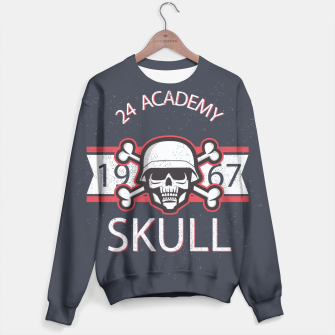 Thumbnail image of Skull  24 Academy Sweater, Live Heroes