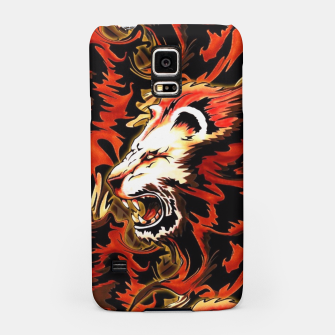Thumbnail image of King Lion Roar Samsung Case, Live Heroes